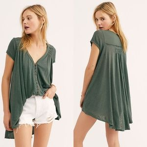 NWT Free People Highland Tee